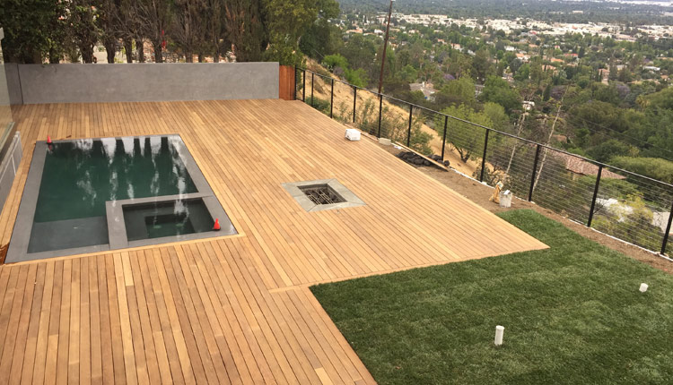 Encino Pool Deck